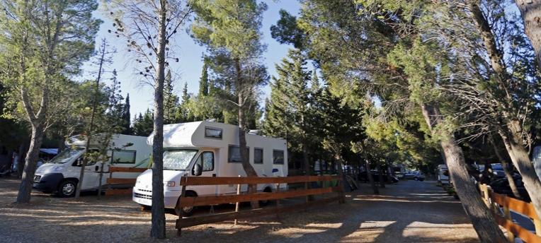 Camping car camp naturiste