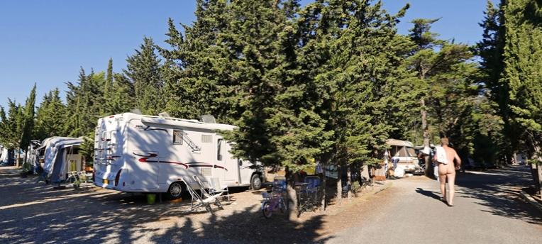 Emplacement camping car Le Clapotis