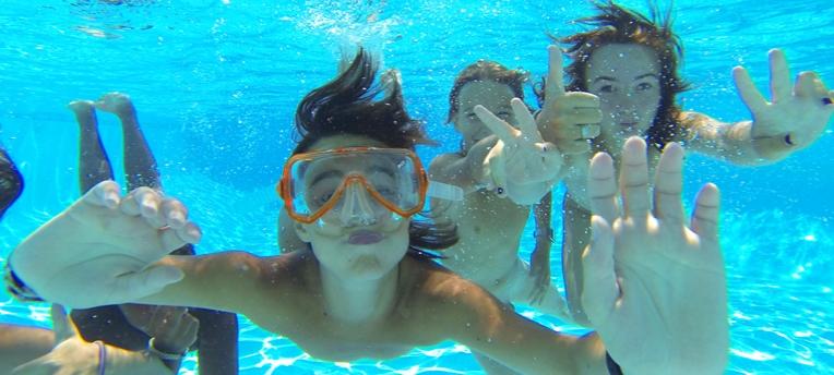 Naturisme piscine